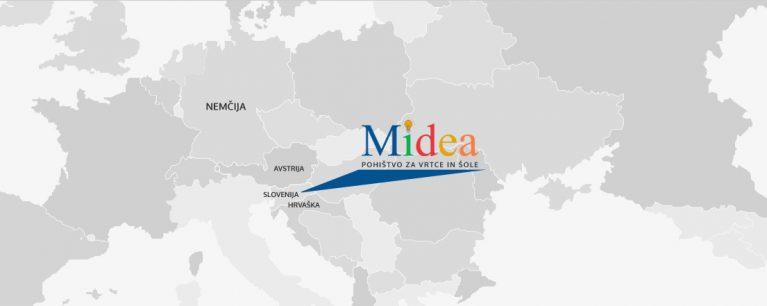 MAP EUROPE midea